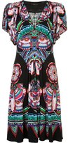 Roberto Cavalli printed dress - women - Viscose - 40