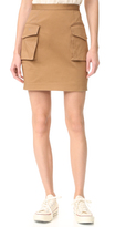 DSQUARED2 Military Miniskirt