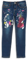 Vigoss Girls 7-16 Paint-Spatter Skinny Jeans