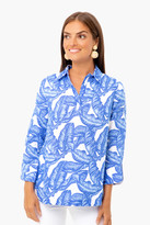 Vineyard Vines Banana Leaf Lucaya Tunic