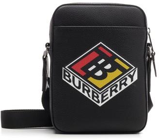Burberry Logo Graphic Messenger Bag