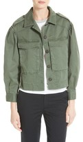 Rebecca Taylor Women's Crop Utility Jacket