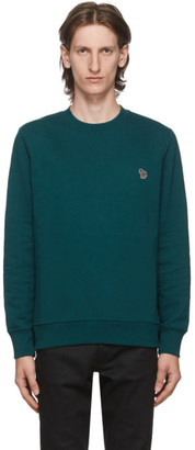 Paul Smith Green Zebra Sweatshirt