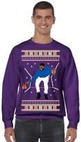 Allntrends Men's Crewneck 1-800 Hotline Bling Ugly Christmas Sweater (L, )