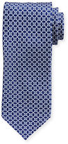 Stefano Ricci Printed Diamond Silk Tie
