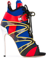 DSQUARED2 open toe lace up sandals