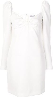 RED Valentino Bow Detail Shift Dress