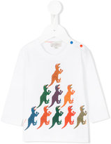 Paul Smith dinosaur print top - kids - Cotton - 12 mth