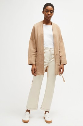 French Connection Ava Linen Blend Jacket