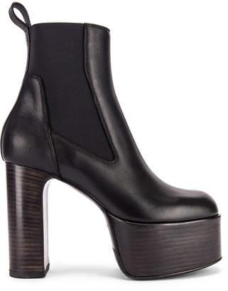 Rick Owens Elastic Kiss Boot in Black | FWRD