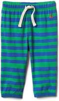 Stripe jersey pants