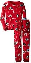 P.J. Salvage Kids Thermal Sleep Set - Penguin (Toddler/Little Kids/Big Kids)