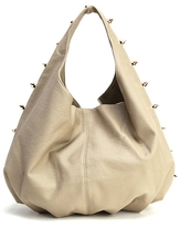 Deux Lux Empire Strikes Back Pleated Hobo in Putty