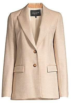 Lafayette 148 New York Women's Harlow Two-Button Blazer - Size 0