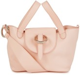 Meli-Melo Rose Thela Mini Peach Leather Tote