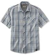 L.L. Bean Swift River Performance Shirt, Short-Sleeve Plaid