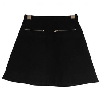 Cos Black Wool Skirt for Women