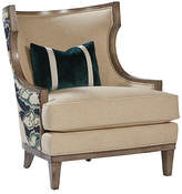 Massoud Furniture Stargo Wingback Chair - Natural Linen