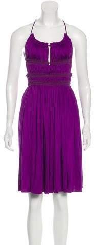 Derek Lam Silk Sleeveless Evening Dress