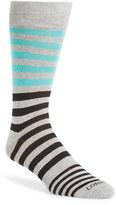 Lorenzo Uomo Men's 'Stripes' Socks