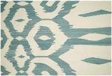 Nalbandian 10'x6'9 Sia Flat-Weave Rug, Blue Gray