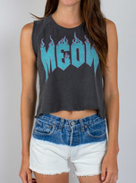 Junk Food Clothing Meow Muscle Tank