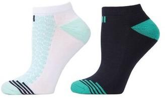 Natori Geo Striped Socks - 2 Pair Pack
