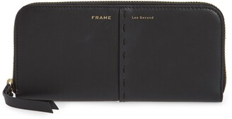 Frame Les Second Leather Continental Wallet