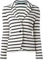 Steffen Schraut striped blazer - women - Cotton/Spandex/Elastane - 40