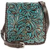 Patricia Nash Turquoise Tooled Granada Small Crossbody