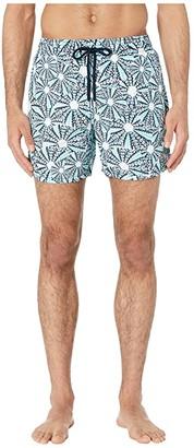 Vilebrequin Moorea Oursinade Swim Trunks (Navy) Men's Swimwear