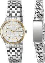DKNY Women's NY2469 Park Slope Analog Display Japanese Quartz Silver Watch