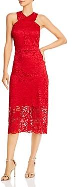 Sam Edelman Lace Halter Midi Dress