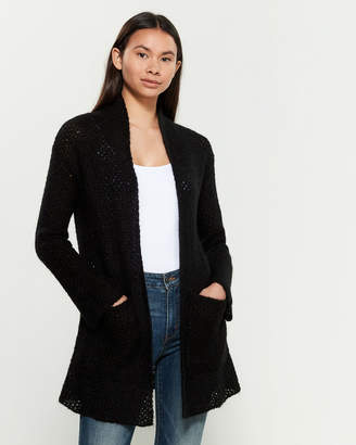 Research Code By Never Enough Aspen Long Sleeve Wool-Blend Cardigan