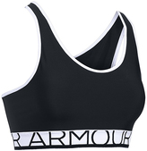 Under Armour Black Armour Mid-Impact Sports Bra