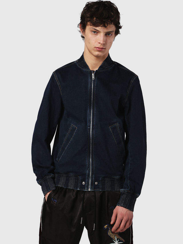 Diesel Denim Jackets 0689Y - Blue - L