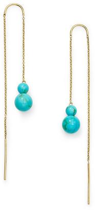 Ippolita 18k Nova Two-Stone Drop Thread Earrings