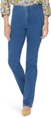 NYDJ Marilyn Flat Front Slim Straight Leg Jeans