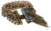 "Kenneth Cole New York ""Springtime Rose"" Mixed Multi-Chain Fringe Bracelet, 7.5"""