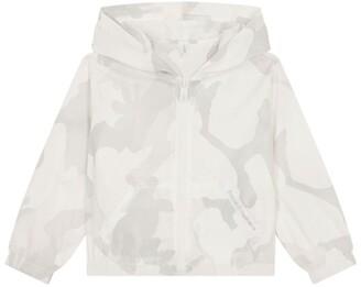 Dolce & Gabbana Kids Hooded Camouflage Windbreaker Jacket (2-6 Years)