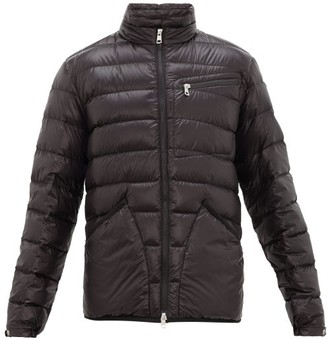 2 Moncler 1952 - Contrast Logo-patch Quilted Down Jacket - Black