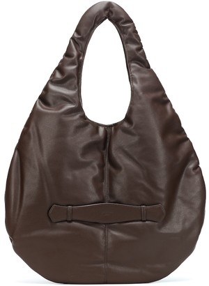 Low Classic Padding leather shoulder bag