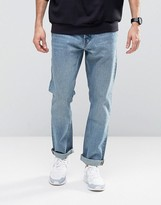 Weekday Common Straight Jeans Instant Blue
