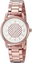 Kate Spade Women's KSW1167 Boathouse Analog Display Quartz Watch