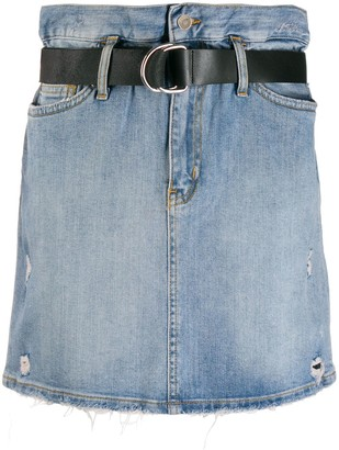 Liu Jo High-Waisted Belted Skirt