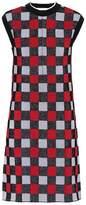 Marni Checked cotton-blend dress