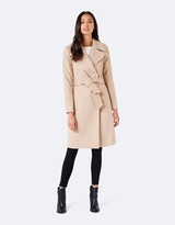 Forever New Milly Midi Wrap Coat