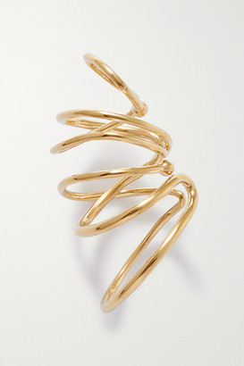 COMPLETEDWORKS Bend In The River Gold Vermeil Ear Cuff
