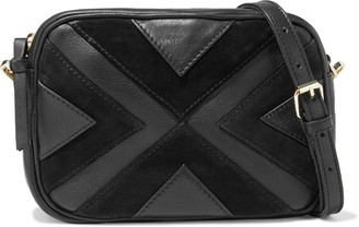 Antik Batik Raika Convertible Textured-leather And Suede Shoulder Bag