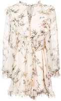 Zimmermann Maples frill playsuit